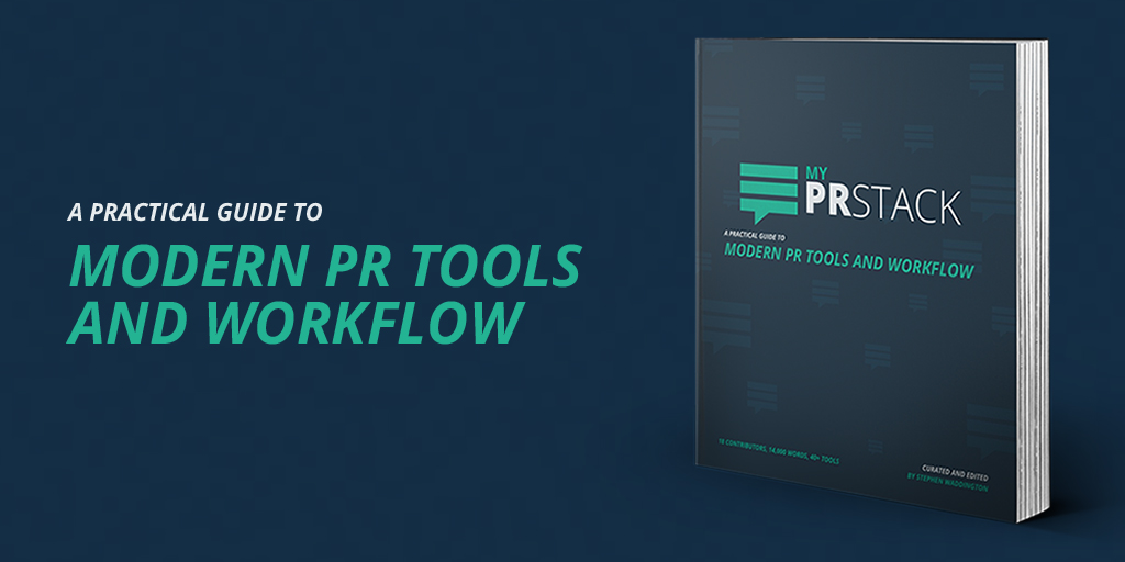 #PRstack eBook modern PR tools and workflow