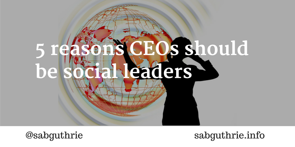 ceo social leaders