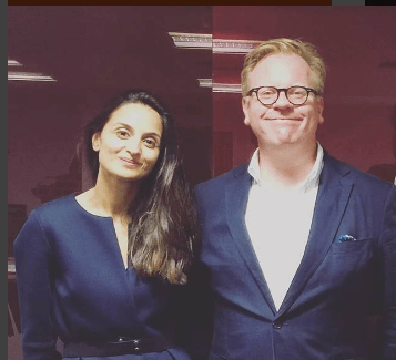 Scott Guthrie guest speaker influencer marketing at Curzon PR CEO Farzana Baduel