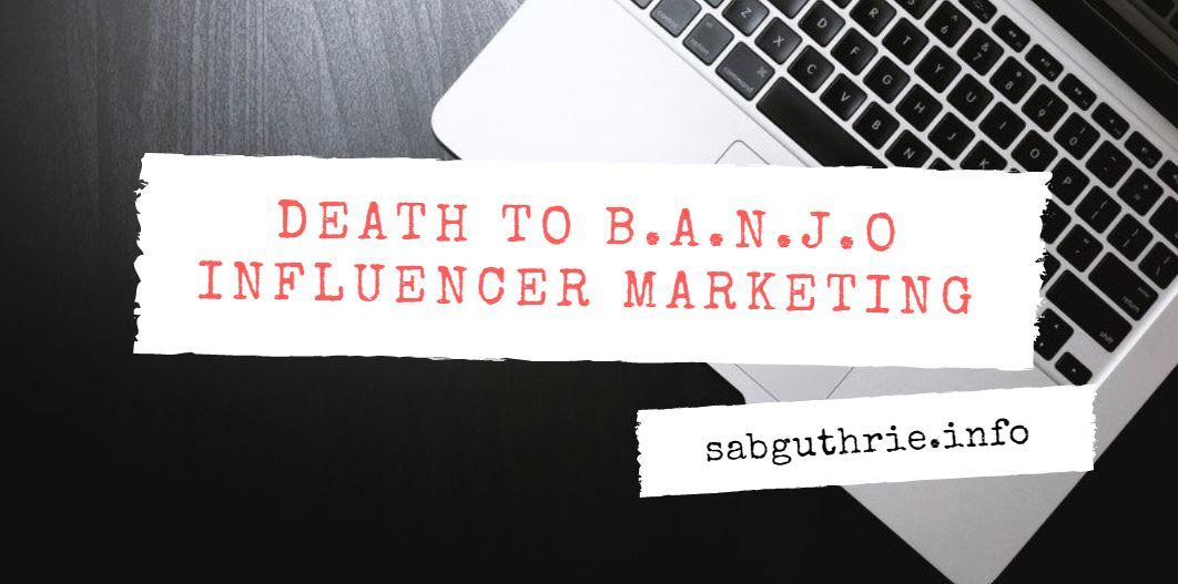 BANJO influencer marketing