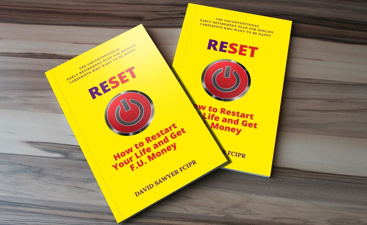 RESET book David Sawyer