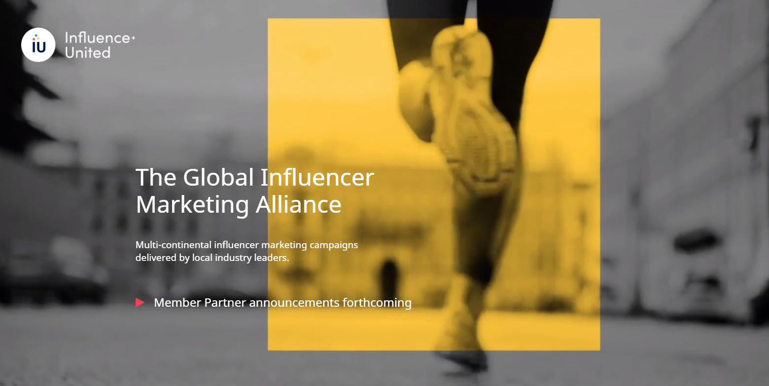 Influence+United: Global influencer marketing alliance formed
