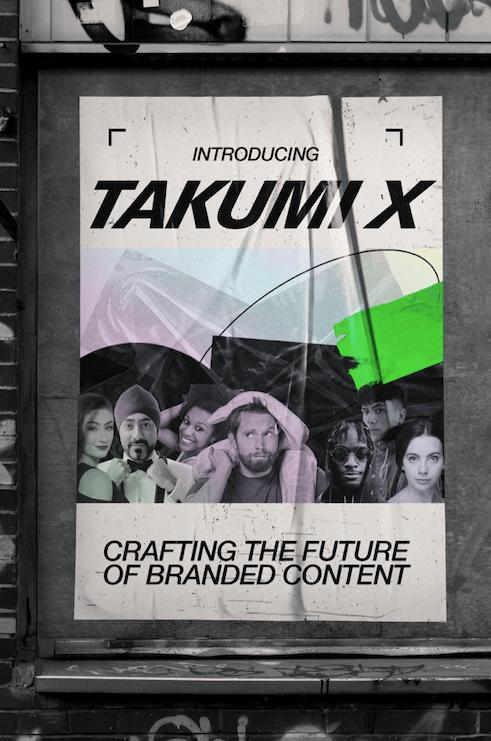 Takumi X creators creative consultants