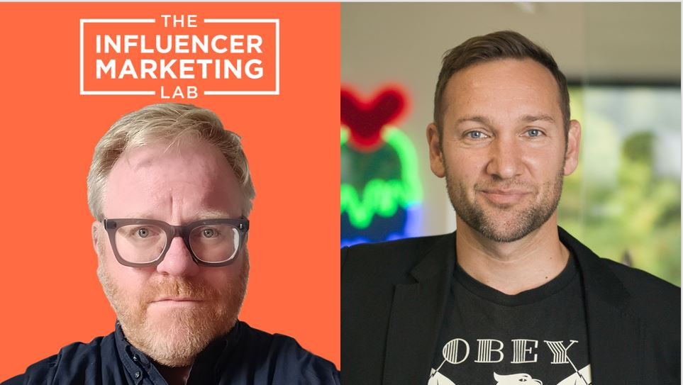 Dudley Nevill-Spencer Influencer Marketing Lab podcast