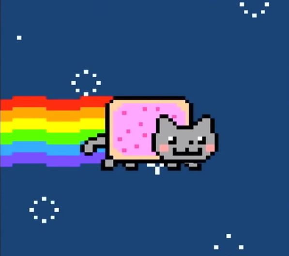 Nyan Cat WTF is NFT Non-Fungible Tokens